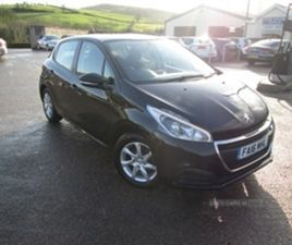USED 2016 PEUGEOT 208 ACTIVE BLUE HDI HATCHBACK 89,885 MILES IN BLACK FOR SALE | CARSITE