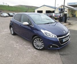 USED 2018 PEUGEOT 208 ALLURE BLUEHDI S/S HATCHBACK 49,951 MILES IN BLUE FOR SALE | CARSITE