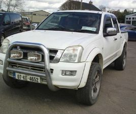 ISUZU D-MAX 4WD CAB 4 IS CREW 4DR FOR SALE IN MONAGHAN FOR €5,000 ON DONEDEAL