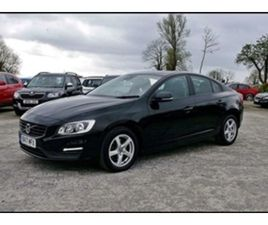 USED 2017 VOLVO S60 BUSINESS EDITION D2 SALOON 62,000 MILES IN BLACK FOR SALE   CARSITE