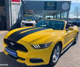 FORD MUSTANG CONVERTIBLE 2.3 ECOBOOST 317CH BVA6