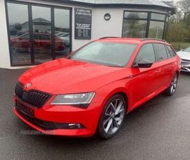 2017 SKODA SUPERB 2.0TDI SCR SPORTLINE (190PS) ESTATE - £15,295