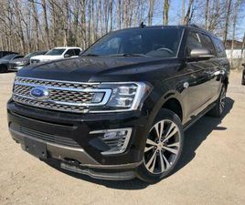 2021 FORD EXPEDITION MAX KING RANCH SYNC3 LEATHER SUNROOF CAR...   CARS & TRUCKS   BARRIE