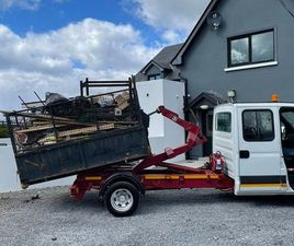 IVECO HOOKLOADER CREW CAB FOR SALE IN GALWAY FOR €14,000 ON DONEDEAL