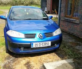 RENAULT MEGANE CONVERTIBLE. 05 FOR SALE IN ROSCOMMON FOR €1400 ON DONEDEAL