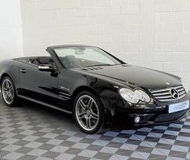 2005 MERCEDES-BENZ SL-CLASS 6.0 SL65 AMG - £65,995
