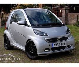 SMART FORTWO COUPE 1.0 BRABUS XCLUSIVE SOFTOUCH AUTO [102 BHP] 2 DOOR COUPE