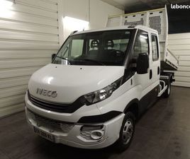 IVECO 35C15 DOUBLE CABINE BENNE