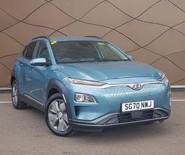 NEARLY NEW 2020 (70) HYUNDAI KONA 150KW PREMIUM 64KWH 5DR AUTO IN GLASGOW
