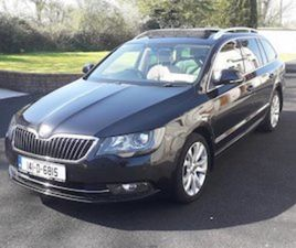 2014 SKODA SUPERB ELEGANCE COMBI 2.0 TDI 140 BHP FOR SALE IN KERRY FOR €11950 ON DONEDEAL