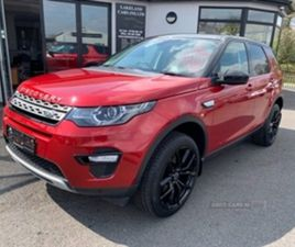 USED 2017 LAND ROVER DISCOVERY SPORT HSE TD4 A ESTATE 53,000 MILES IN RED FOR SALE | CARSI