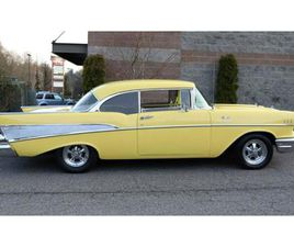 FOR SALE: 1957 CHEVROLET BEL AIR IN CADILLAC, MICHIGAN