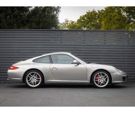PORSCHE 911 (997) GEN II 3.8 S COUPE <H2>PLATINUM SILVER METALLIC WITH BLACK FULL LEATHER