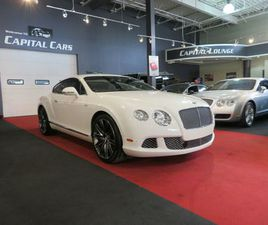 2013 BENTLEY CONTINENTAL GT SPEED GT SPEED / COUPE / NAVI / BACK UP CAM / 616HP | CARS & T