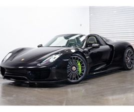 USED 2015 PORSCHE 918 4.6 SPYDER PDK WEISSACH 2DR SEMI AUTOMATIC CONVERTIBLE 3,600 MILES I