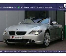 BMW 630 CABRIO 630I 259PK / NAVI