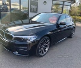 USED 2018 BMW 5 SERIES M SPORT AUTO SALOON 56,000 MILES IN BLACK FOR SALE   CARSITE