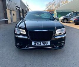 CHRYSLER 300C 3.0 V6 CRD AUTOMATIC 2013 BLACK LEATHER SATNAV ALLOYS LANCIA