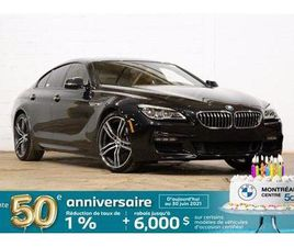 BMW SÉRIE 6 640I XDRIVE GRAN COUPE, M SPOR 2018