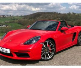718 BOXSTER 2.5I S 350 CH PDK