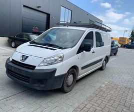 PEUGEOT EXPERT 2.0HDI DOUBLE CABINE 6PLACES