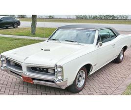 FOR SALE: 1966 PONTIAC GTO IN CADILLAC, MICHIGAN