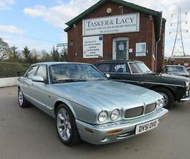 2001 JAGUAR XJR 4.0 V8 X308 MODEL IN RARE SEAFROST WITH OATMEAL