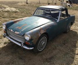FOR SALE AT AUCTION: 1967 AUSTIN-HEALEY SPRITE IN WWW.BIGIRON.COM,