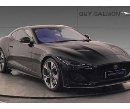 JAGUAR F-TYPE COUPE SPECIAL EDITIONS 5.0 P450 SUPERCHARGED V8 FIRST EDITION 2DR AUTO