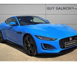 JAGUAR F-TYPE COUPE SPECIAL EDITIONS 5.0 P450 SUPERCHARGED V8 REIMS EDITION 2DR AUTO