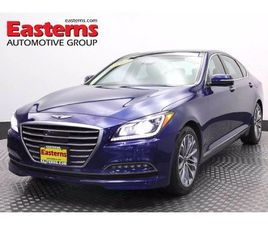 BLUE COLOR 2017 GENESIS G80 PREMIUM FOR SALE IN TEMPLE HILLS, MD 20748. VIN IS KMHGN4JE1HU