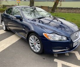 USED 2008 JAGUAR XF V6 PREMIUM LUXURY 2.7 NOT SPECIFIED 122,953 MILES IN BLUE FOR SALE   C