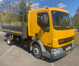 DAF 45/170 TIPPER WITH COMPRESSOR FOR SALE IN DOWN FOR £1 ON DONEDEAL
