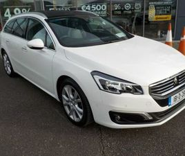 PEUGEOT 508 SW ALLURE1.6 BLUE HDI 120 FOR SALE IN KERRY FOR €20,950 ON DONEDEAL