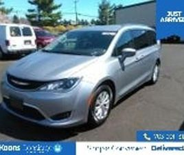 SILVER COLOR 2018 CHRYSLER PACIFICA TOURING-L FOR SALE IN STERLING, VA 20164. VIN IS 2C4RC