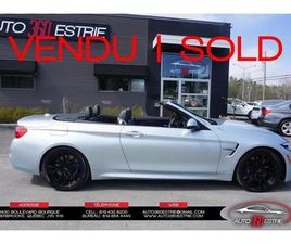 BMW M4 2018 CABRIOLET-CONVERTIBLE