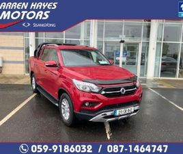 SSANGYONG MUSSO EL 2.2 DSL AT P/T 4WD 4DR A AUTO FOR SALE IN CARLOW FOR €38,945 ON DONEDEA