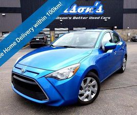 USED 2016 TOYOTA YARIS 6 SPEED, AIR, NEW TIRES! BLUETOOTH, CRUISE CONTROL, STEERING WHEEL