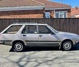 1985 RENAULT 18 GTX 2.0 ESTATE,MUST BE THE BEST OF IT'S TYPE,51000 MILES PX SWAP