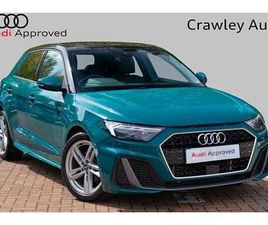 AUDI A1 SPORTBACK S LINE 30 TFSI 116 PS 6-SPEED £22,425 | USED CARS, RESERVE ONLINE | HARW