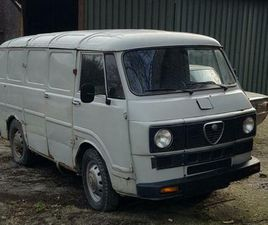 ② ALFA ROMEO F12 DIESEL 1982 CAMPER FOODTRUCK - CAMIONNETTES & UTILITAIRES