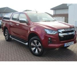 USED 2021 ISUZU D-MAX DL40 DCB NOT SPECIFIED 1,300 MILES IN RED FOR SALE | CARSITE