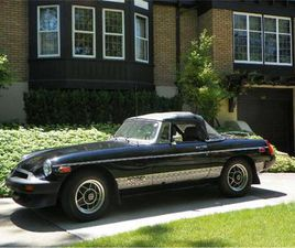 FOR SALE: 1980 MG MGB IN CADILLAC, MICHIGAN