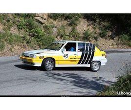R11 TURBO PETITE PRÉPARATION RALLYE ARCEAUX...