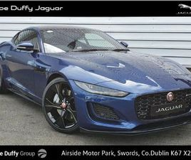 JAGUAR F-TYPE R-DYNAMIC COUPE 300PS FOR SALE IN DUBLIN FOR €109,287 ON DONEDEAL