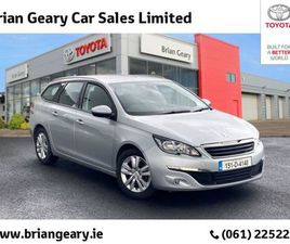 PEUGEOT 308 SW ACTIVE 1.6 HDI 92 4DR FOR SALE IN LIMERICK FOR €10,450 ON DONEDEAL