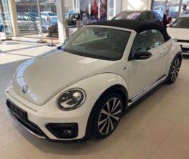 2017 VW BEETLE 1.4 TSI BMT R-LINE CABRIOLET DSG 2D 35.000 KM RING FOR PRIS