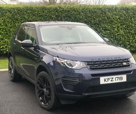 LAND ROVER DISCOVERY SPORT 2.0 TD4 SE AUTO 4WD (S/S) 5DR