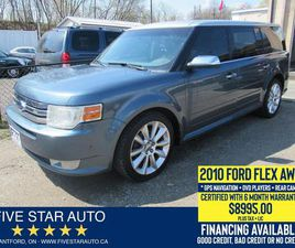 USED 2010 FORD FLEX LIMITED *CLEAN CARFAX* CERTIFIED + 6 MONTH WRNTY