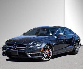 USED 2012 MERCEDES-BENZ CLS-CLASS AMG 63. LOCAL, CLEAN. NEW BRAKES. FULL RECORDS